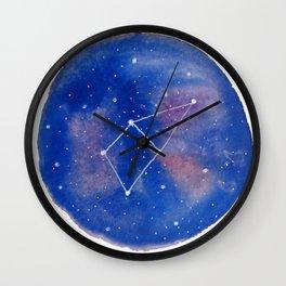 Hercules, Cepheus, Lacerta Wall Clock