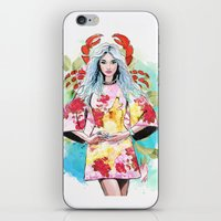 cancer iPhone & iPod Skins featuring Cancer by Sara Eshak