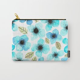 Lilly Blue Carry-All Pouch