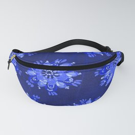 Blue Autumn Glory Fanny Pack