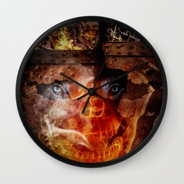 "Steve Bannon: ""Darkness is good. Dick Cheney. Darth Vader. Satan. That's power."" Wall Clock"