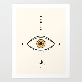 Universe Eye II Art Print