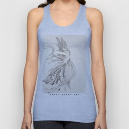 Fin and Feather Gown Unisex Tank Top