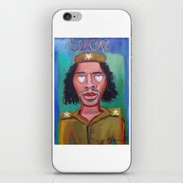El Che and hearts 7 iPhone Skin