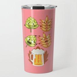 Funny Beer Fusion Bachelor Beer Pong Drinking Gift Travel Mug