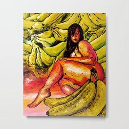 Banana Boat Remixed  Metal Print