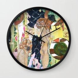 Hot Tub Klimt Machine Wall Clock