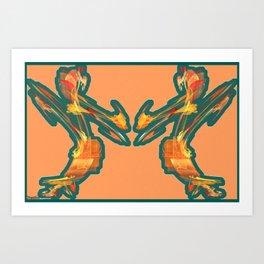 Frakblot Late Art Print