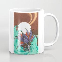 Mech Lotus Moon Coffee Mug