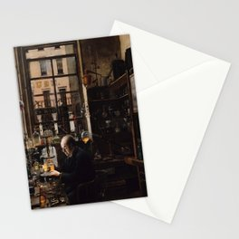In the Laboratory - Henry Alexander - Circa 1886 Stationery Cards