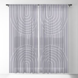 Arch Symmetry XXII Sheer Curtain