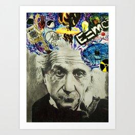 Mindblower Art Print