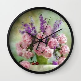 Abs clear Wall Clock
