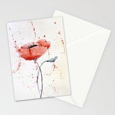 Poppy no 1 Stationery Cards