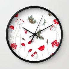 Tatemae Japanese White Wall Clock