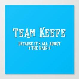 Team Keefe Canvas Print