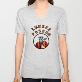 Lumber Possum Unisex V-Neck