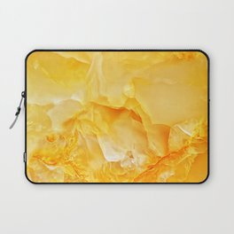 Yellow onyx marble Laptop Sleeve
