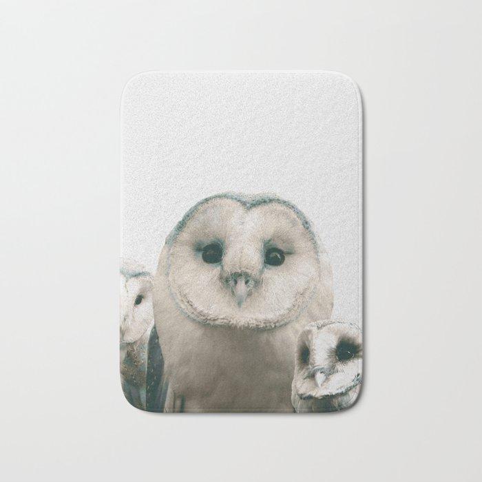 Owls Bath Mat