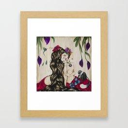 Frida Bilateral Framed Art Print