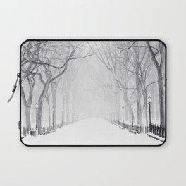 Snowy Park Laptop Sleeve