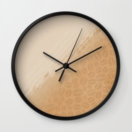 Coffee and nothing more Wall Clock