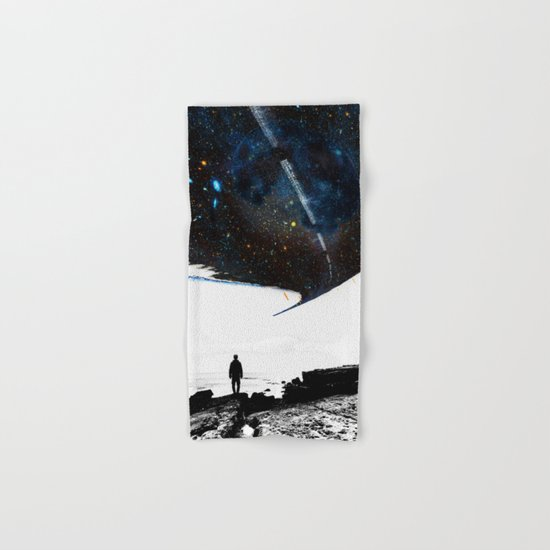 The Road Less Traveled Hand & Bath Towel