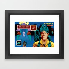 Ghostbusters - You Say Yes Framed Art Print