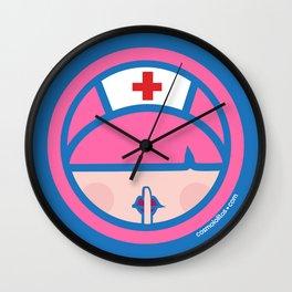 Silencio Please! Wall Clock