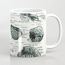 Sketchbook - Fossils Coffee Mug
