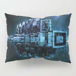 Leviathan BLUE / Keep on trucking Pillow Sham