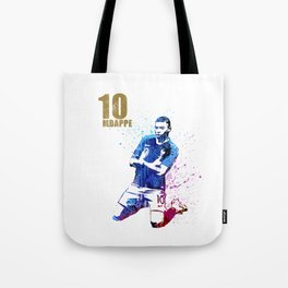 Sports art _ France world cup football 2018 Tote Bag