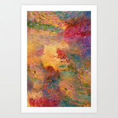 Claude Art Print