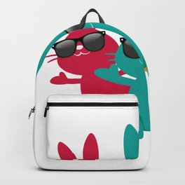 Hipster Hippop Easter Bunny Kids Bunnies Gift Backpack