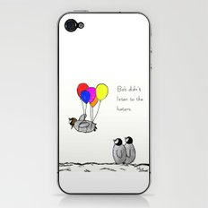 To be a Flying Penguin  iPhone & iPod Skin