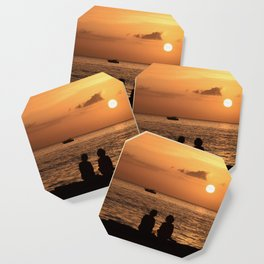 Tranquil Friends Coaster