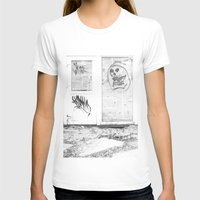 newspaper T-shirts featuring Death's newspaper booth by Art Pass
