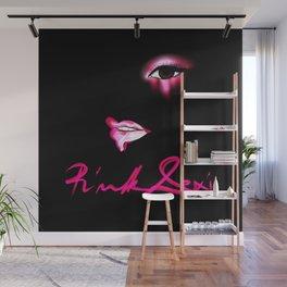 Pink Lexi Wall Mural