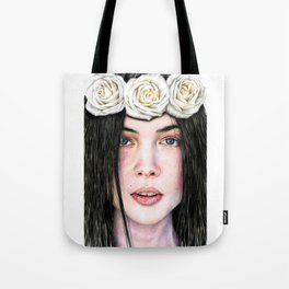Three Roses Tote Bag
