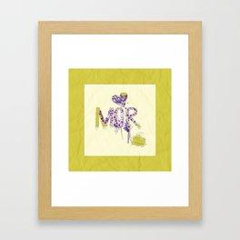 MOR.2 Framed Art Print