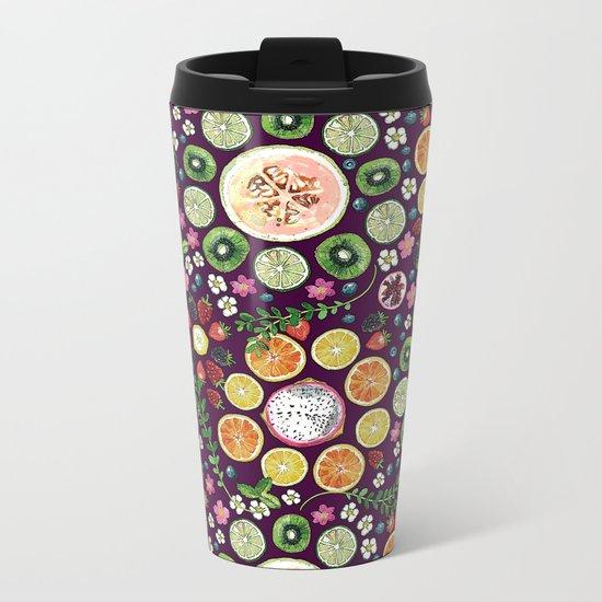 Fruit fun Metal Travel Mug