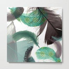 Feathers Art No.2 Metal Print