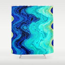 OCEAN MOOD Shower Curtain