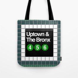 subway bronx sign Tote Bag