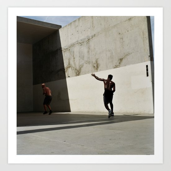 handball Art Print