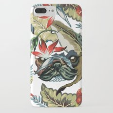 Tropical Pug iPhone 7 Plus Slim Case
