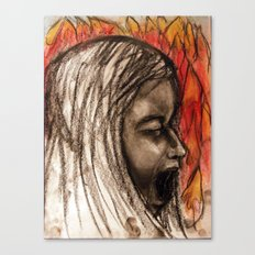 Scream #36 Canvas Print