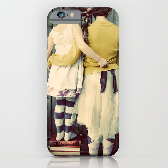 Two Girls iPhone & iPod Case