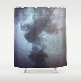 Ephemeral Rosebud Shower Curtain
