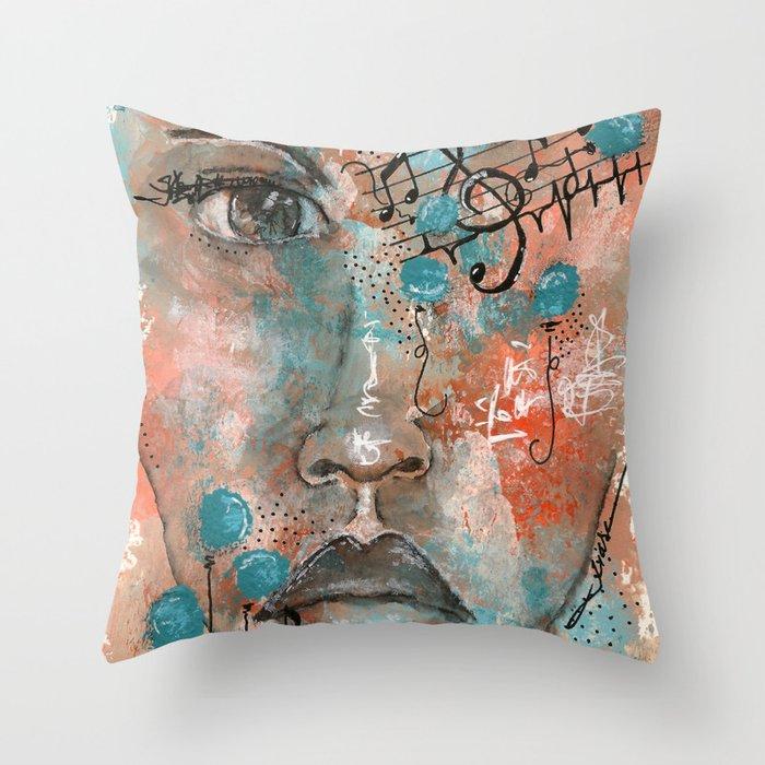 Come Through 4 Throw Pillow